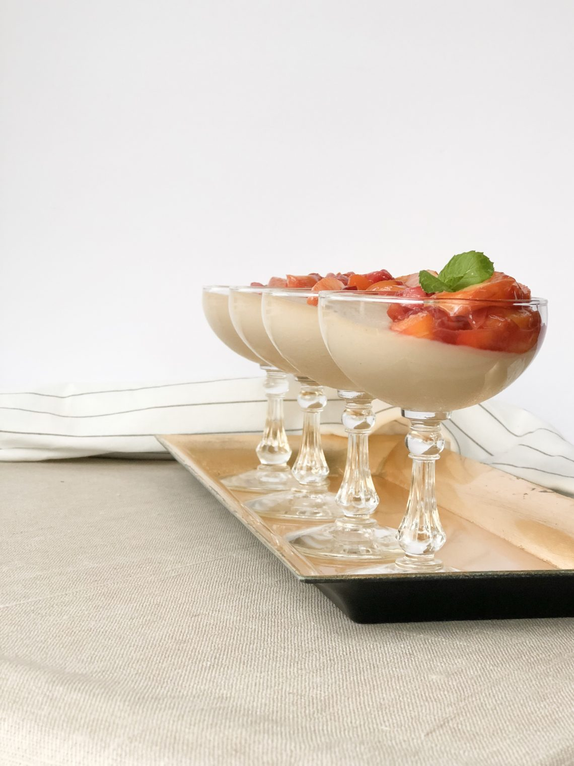 Panna Cotta with Topping