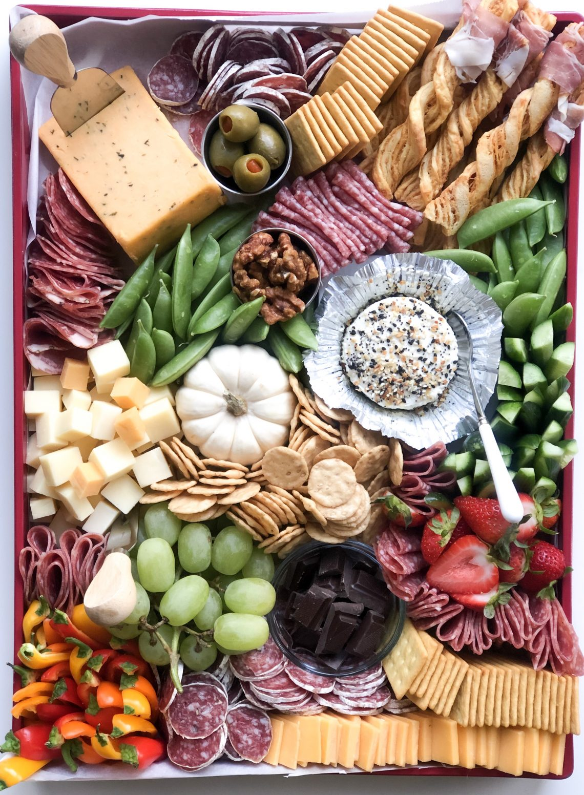 Trader Joe's Charcuterie Board with Shopping List