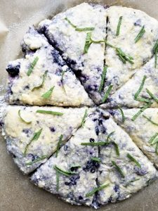 Sage and Blackberry Scones