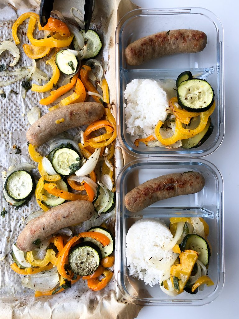 Healthy Sausage Meal Prep